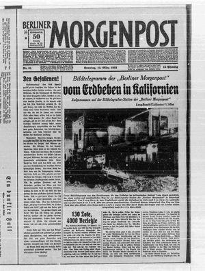 Berliner Morgenpost vom 12.03.1933