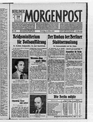 Berliner Morgenpost vom 14.03.1933
