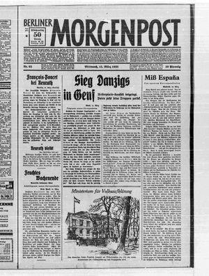 Berliner Morgenpost vom 15.03.1933
