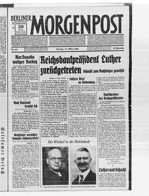Berliner Morgenpost vom 17.03.1933