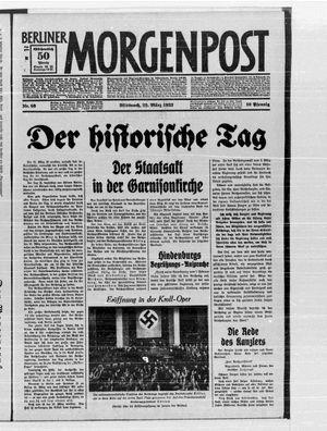 Berliner Morgenpost vom 22.03.1933