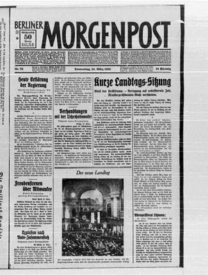 Berliner Morgenpost vom 23.03.1933