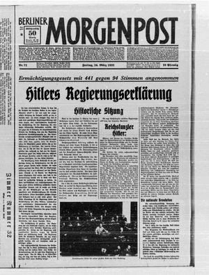 Berliner Morgenpost vom 24.03.1933