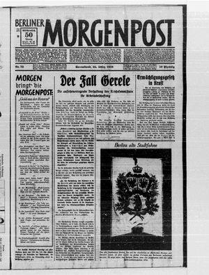 Berliner Morgenpost vom 25.03.1933