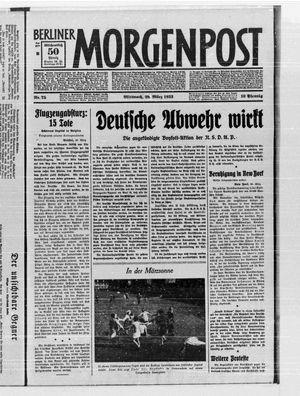 Berliner Morgenpost vom 29.03.1933