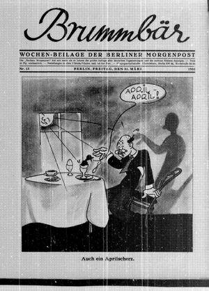 Berliner Morgenpost vom 31.03.1933
