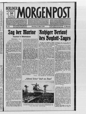 Berliner Morgenpost vom 02.04.1933