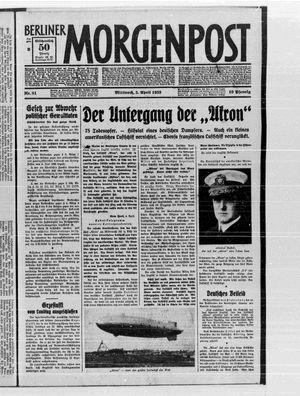 Berliner Morgenpost vom 05.04.1933