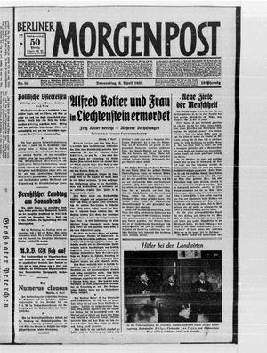 Berliner Morgenpost on Apr 6, 1933