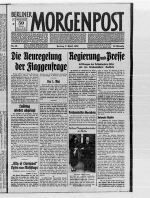 Berliner Morgenpost vom 07.04.1933