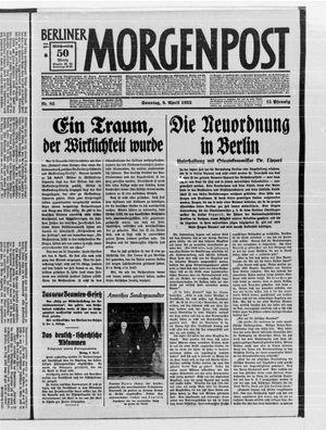 Berliner Morgenpost vom 09.04.1933