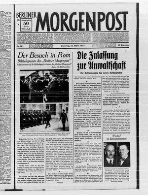 Berliner Morgenpost vom 11.04.1933