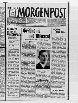 Berliner Morgenpost vom 15.04.1933