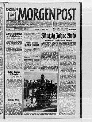 Berliner Morgenpost vom 18.04.1933