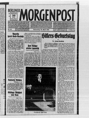 Berliner Morgenpost vom 20.04.1933