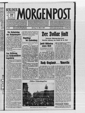 Berliner Morgenpost vom 21.04.1933