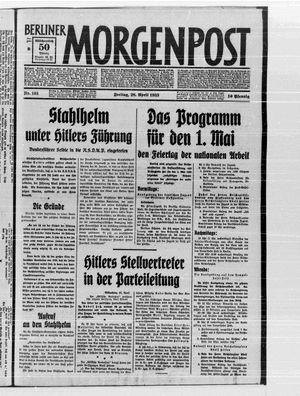 Berliner Morgenpost vom 28.04.1933