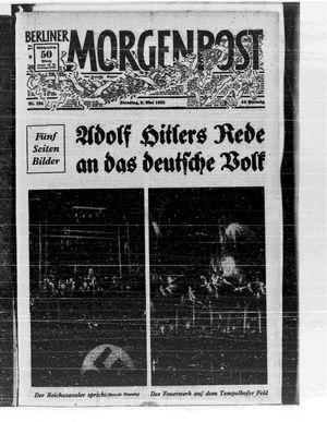 Berliner Morgenpost vom 02.05.1933