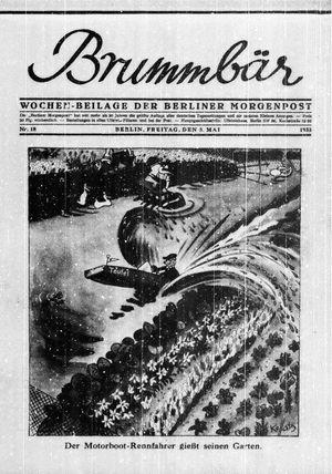 Berliner Morgenpost vom 05.05.1933