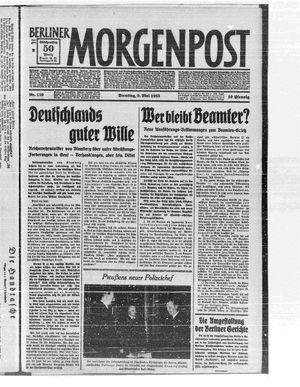 Berliner Morgenpost on May 9, 1933