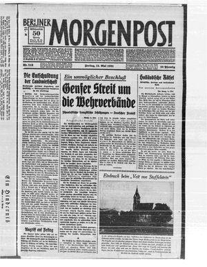 Berliner Morgenpost vom 12.05.1933