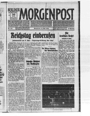 Berliner Morgenpost vom 13.05.1933