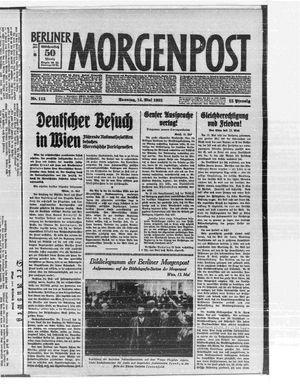 Berliner Morgenpost on May 14, 1933