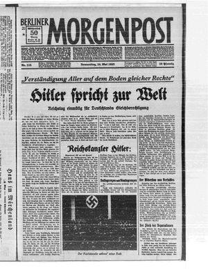 Berliner Morgenpost vom 18.05.1933