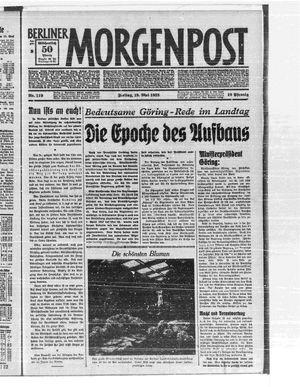 Berliner Morgenpost vom 19.05.1933