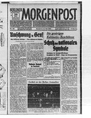 Berliner Morgenpost vom 20.05.1933