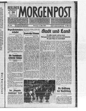 Berliner Morgenpost vom 21.05.1933