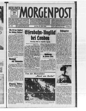 Berliner Morgenpost vom 26.05.1933