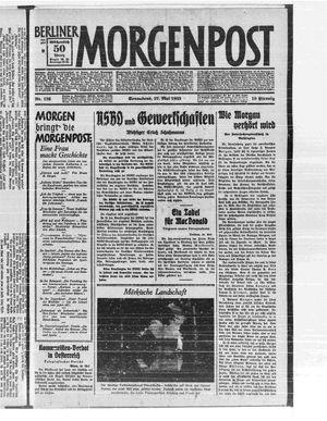 Berliner Morgenpost on May 27, 1933