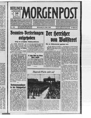 Berliner Morgenpost vom 31.05.1933