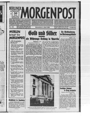 Berliner Morgenpost vom 03.06.1933
