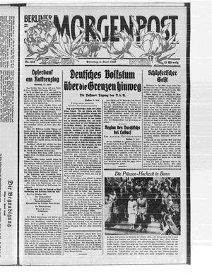 Berliner Morgenpost vom 04.06.1933