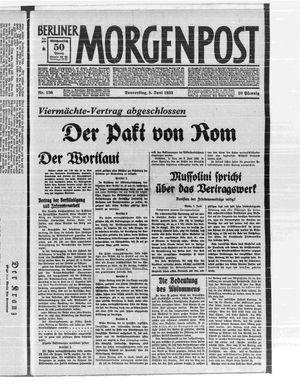 Berliner Morgenpost vom 08.06.1933