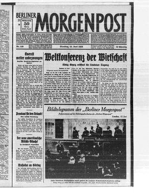 Berliner Morgenpost vom 13.06.1933