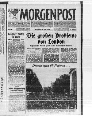 Berliner Morgenpost vom 14.06.1933