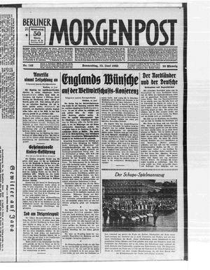 Berliner Morgenpost vom 15.06.1933