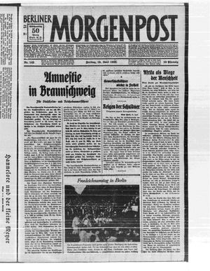 Berliner Morgenpost vom 16.06.1933