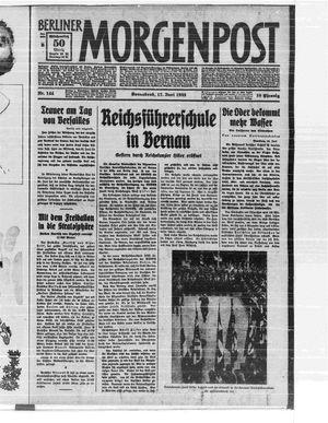Berliner Morgenpost vom 17.06.1933