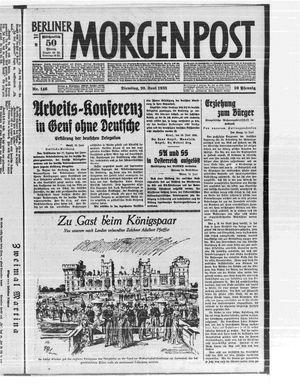 Berliner Morgenpost vom 20.06.1933
