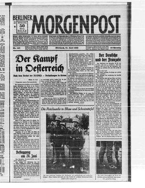 Berliner Morgenpost vom 21.06.1933