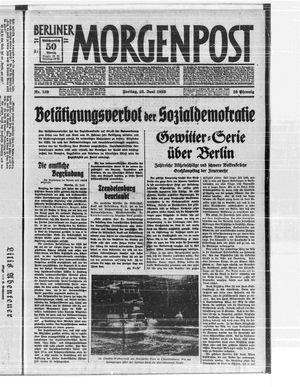 Berliner Morgenpost vom 23.06.1933
