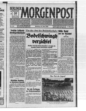 Berliner Morgenpost vom 25.06.1933