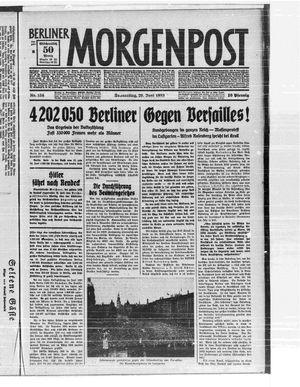 Berliner Morgenpost vom 29.06.1933
