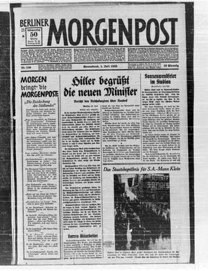 Berliner Morgenpost vom 01.07.1933