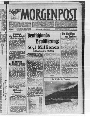 Berliner Morgenpost vom 05.07.1933