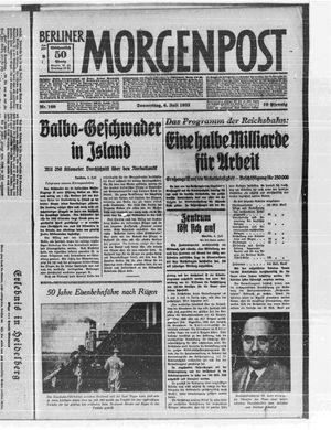 Berliner Morgenpost vom 06.07.1933